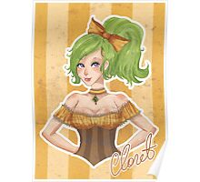 Claret - The Green Lady Poster