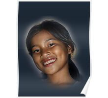 Young Cambodian Beauty Poster