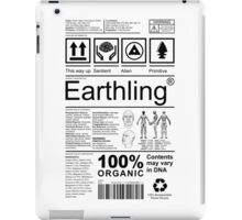 Earthling - Light iPad Case/Skin