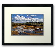 Rubicon Reflections Framed Print