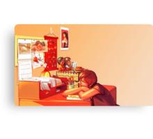 Clutter Canvas Print