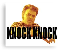Ricky - Knock Knock Canvas Print