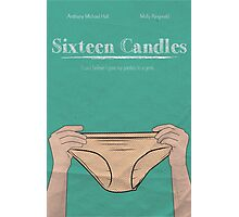 Sixteen Candles Minimalist Movie Poster Photographic Print
