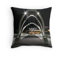 cyberscape Throw Pillow
