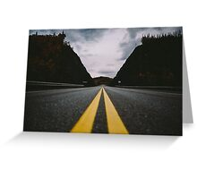 To Nowhere Greeting Card