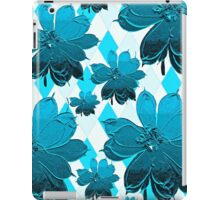 Lily Blue Floral iPad Case/Skin