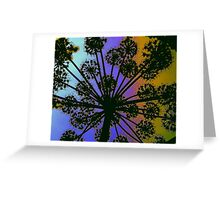 Angelica on Acid Greeting Card