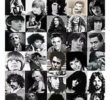 The Death Of Music Legend Photographic Print