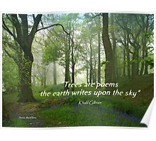 Trees are Poems Poster