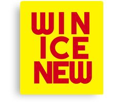 Win Ice New – Two Canvas Print