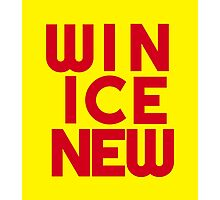 Win Ice New – Two Photographic Print