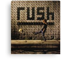 RUSH ROLL THE BONE Canvas Print