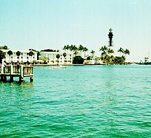 Hillsboro Inlet  by Bill Wetmore