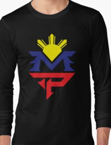 Manny Pacquiao Pacman Boxing Mexico Long Sleeve T-Shirt