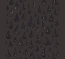 Triangles Are My Favorite Shape by Hector Mansilla