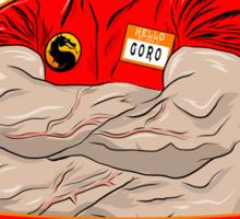 Khiropraktor Goro Sticker