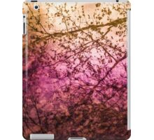 Sun Setting on Trees iPad Case/Skin
