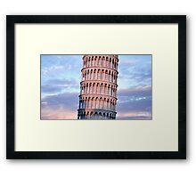 Torre di Pisa Framed Print
