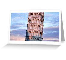 Torre di Pisa Greeting Card