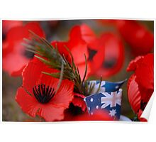 Poppies Field Poster