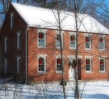 Brick House: Roper Rd Westminster MA Orton by Rebecca Bryson