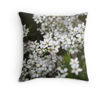 Soft and tender ribbon Throw Pillow