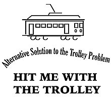 Trolley Problem Photographic Print