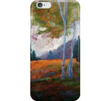 Autumn Entry Abstract Print iPhone Case/Skin