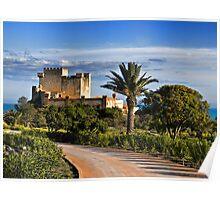 Il castello di Falconara, Sicily Poster
