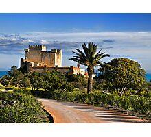 Il castello di Falconara, Sicily Photographic Print