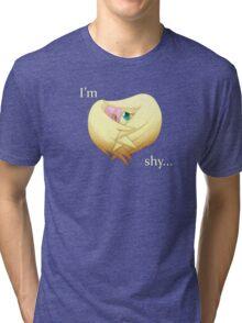 Shy Flutters Tri-blend T-Shirt