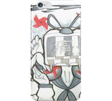 TV Head SAD iPhone Case/Skin
