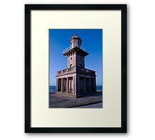 Fleetwood's Lower Lighthouse Framed Print