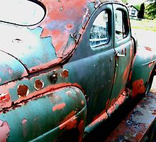 Old Rusty by Dawn Palmerley