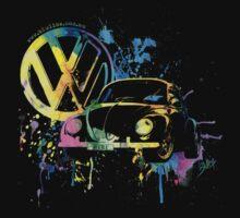 Volkswagen Beetle Splash © One Piece - Long Sleeve