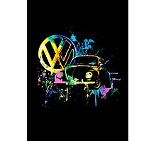 Volkswagen Beetle Splash © Photographic Print