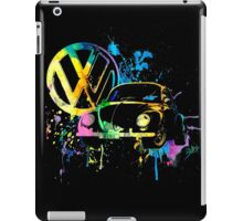 Volkswagen Beetle Splash iPad Case/Skin
