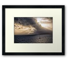 Sunset over Cape Tribulation Framed Print