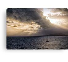 Sunset over Cape Tribulation Canvas Print