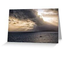 Sunset over Cape Tribulation Greeting Card