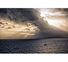 Sunset over Cape Tribulation Photographic Print