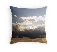 Moody Sky Throw Pillow