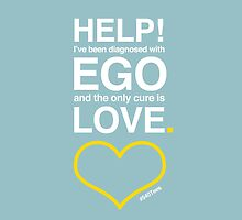 Diagnosed with Ego by 540tees