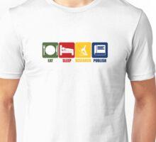 Eat Sleep Research Publish Unisex T-Shirt