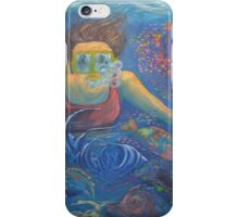 great barrier reef scarf wrap sarong iPhone Case/Skin
