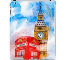 London Dreams - Big Ben & An Iconic Red Telephone Box iPad Case/Skin