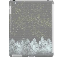 white trees iPad Case/Skin