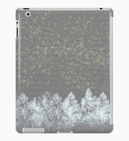 white trees iPad Case/Skin