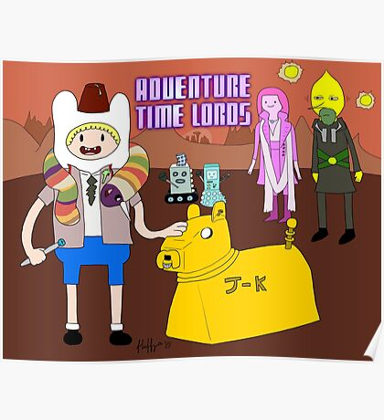Adventure Time Lords Poster
