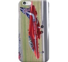 Single Arrow Touchdown - Farnborough 2014 iPhone Case/Skin